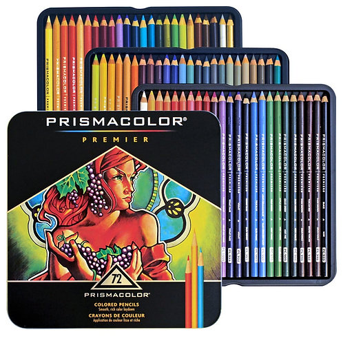 Prismacolor Premier Color Pencils - Set of 72