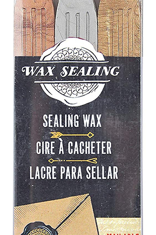 Manuscript MSH7633GSB Sealing Wax with Wick - Bronze/Silver/Gold - Pack of 3