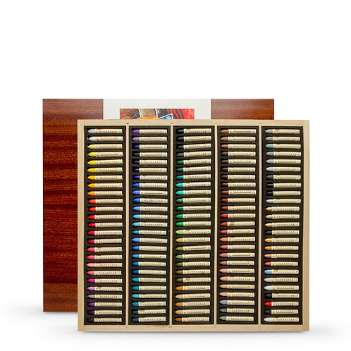 Sennelier Oil Pastels Wooden Box - Set of 120