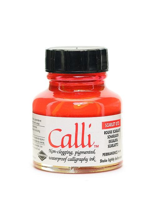 Daler Rowney Calli Scarlet Calligraphy Ink - 30ml