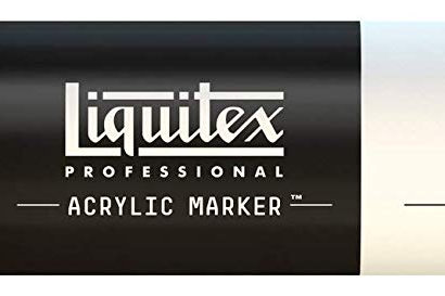 Liquitex 412 Acrylic Paint Marker 15mm Wide - Yellow Medium Azo