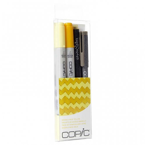 Copic Ciao Doodle - Yellow Set of 4