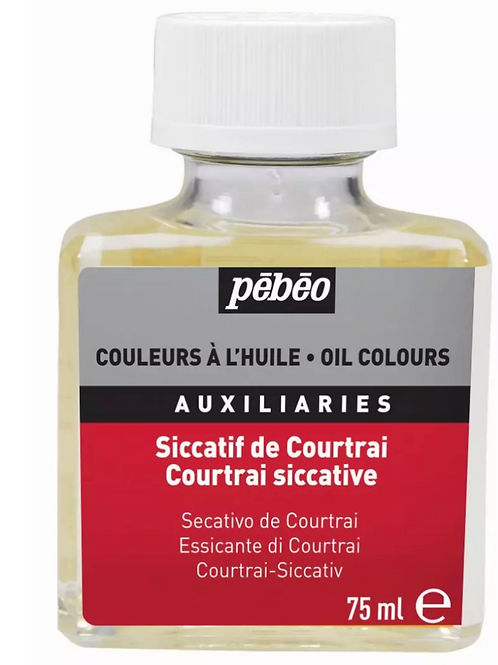 Pebeo Extra Fine Auxiliaries - Courtrai Siccative - 75 ml