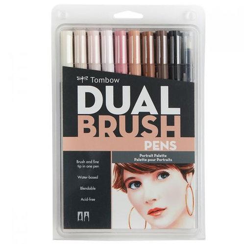 Tombow Dual Brush Pens - Potrait