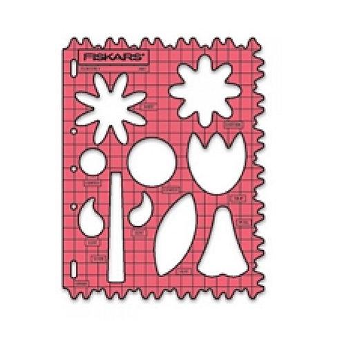 Fiskars Shape Template - Flowers