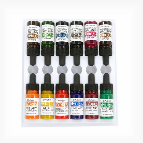 Dr. Ph. Martin Hydrus Watercolour 15ml Set 2 - Set of 12