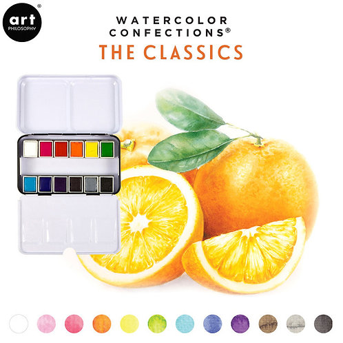 Prima Watercolor Confections - The Classics