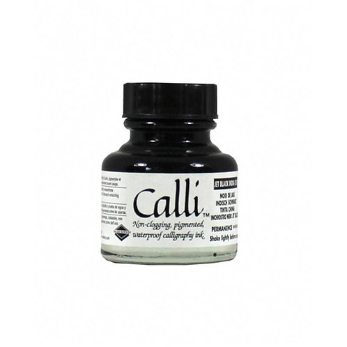 Daler Rowney Calli Black Calligraphy Ink - 30ml