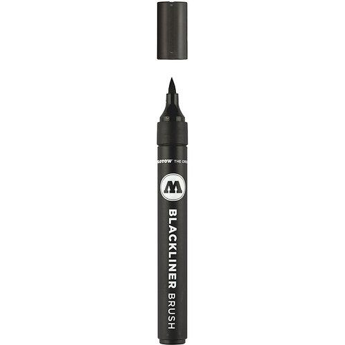 Molotow Blackliner Brush Pen - Black