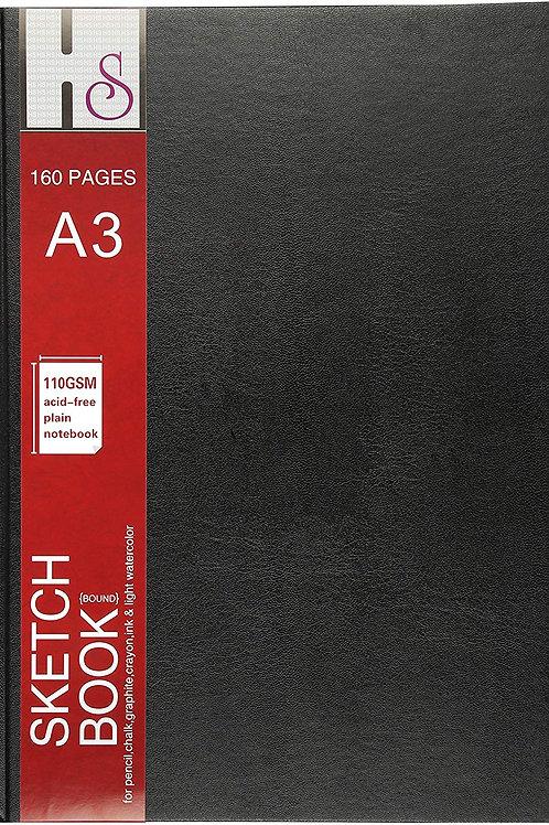 HS Artist Sketch Books - A3 Hard Bound