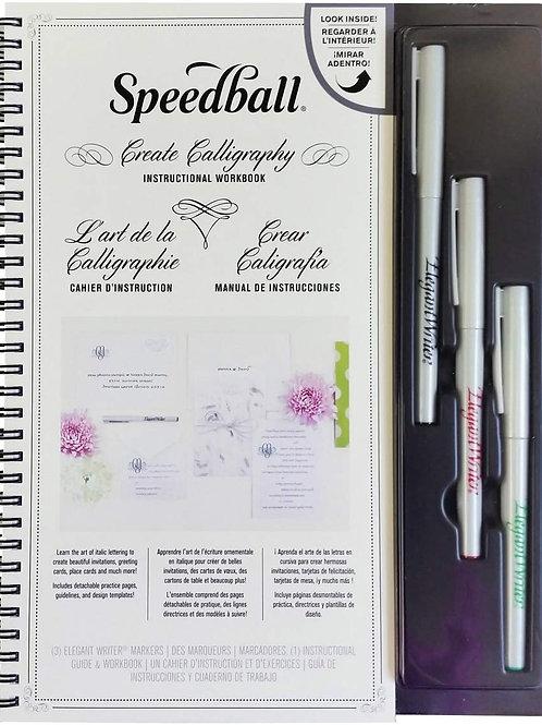 Speedball (28012) Lettershop Calligraphy Kit