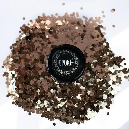 Epoke Dull Gold Glitter (G27) Chunky - 15g