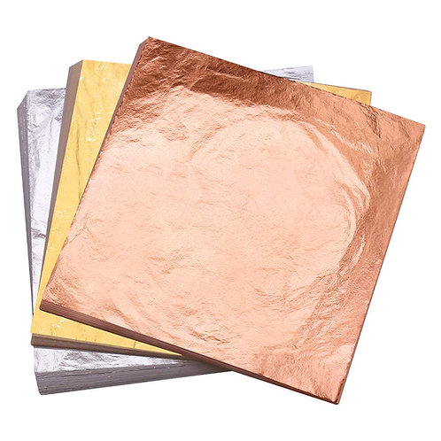 Gold Leaf for Art & Crafts - 25 sheets