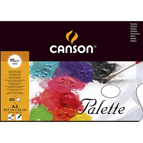 Canson Tear off Palette 95gsm - A3