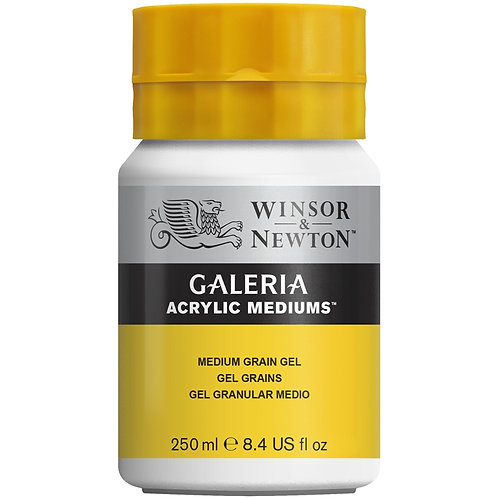 Winsor & Newton Galeria Acrylic Medium Grain Gel - 250ml