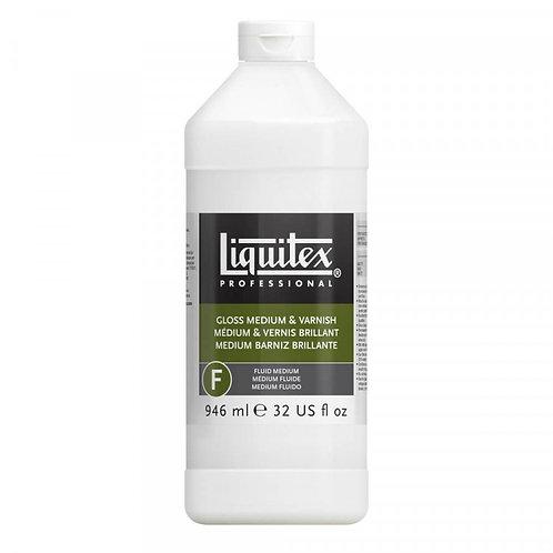 Liquitex Professional Gloss Medium & Varnish 946ml