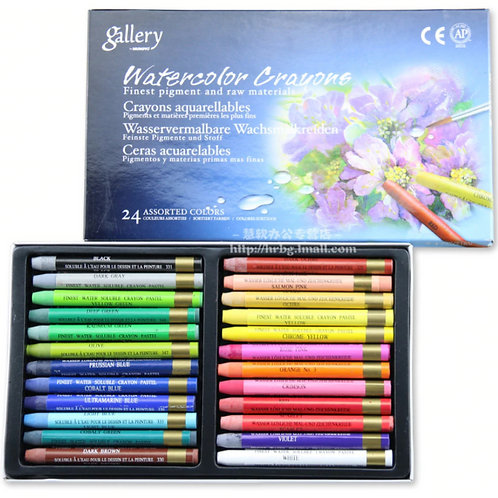 Mungyo Gallery Water-soluble Crayons Set of 24