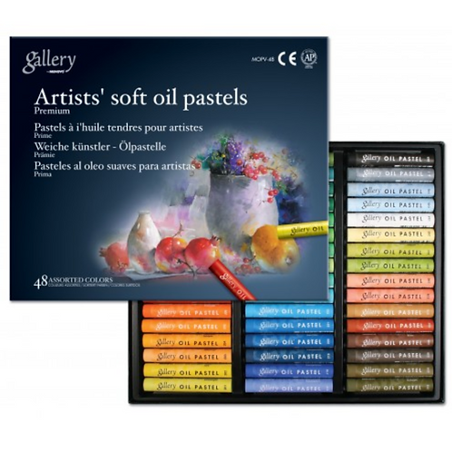 Mungyo Gallery Soft Oil Pastels Assorted Colors -  Set of 48