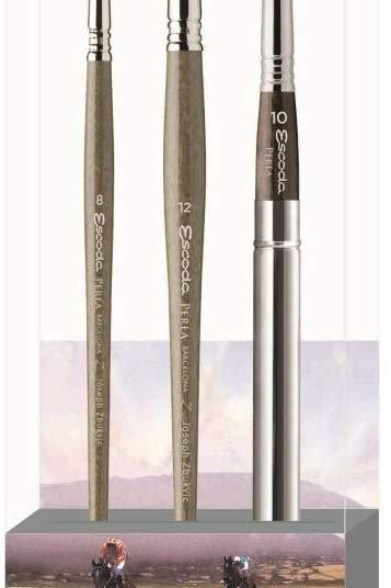 Escoda Signature Collection Brush Set - Joseph Zbukvic
