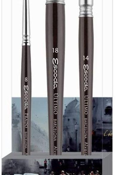 Escoda Signature Collection Brush Set - Alvaro Castagnet