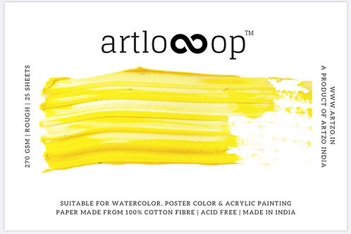 Artloop A5 Mixed Media Pad 270gsm (Rough)