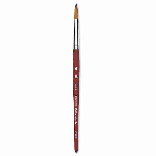 Princeton 3950VelvetouchSynthetic Mixed-Media Brush Round -Size 6