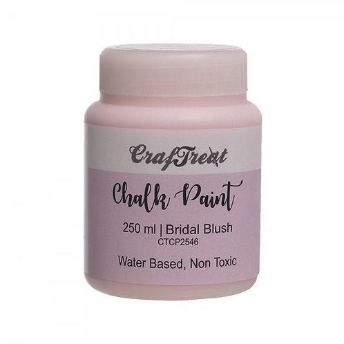 CrafTreat Chalk Paint 250ml - Bridal Blush