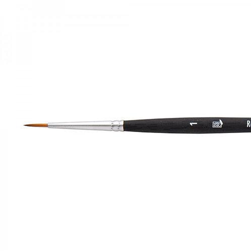 Princeton Series 4850Aqua Elite Brush Synthetic Round Kolinsky Sable - Size 1
