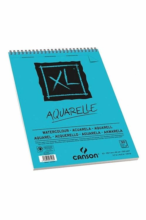 Canson XL Aquarelle 300gsm 29.7 x 42 cm - A3