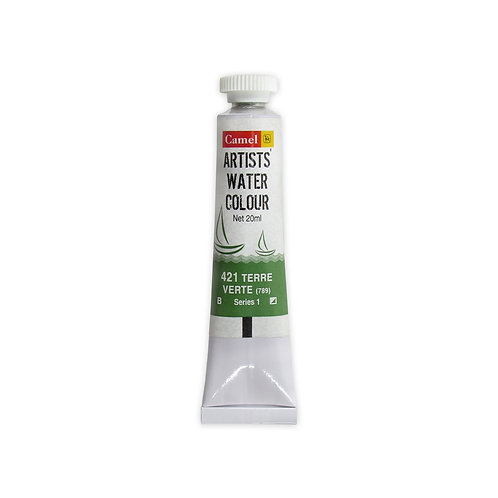 Camel Kokuyo Artist Watercolour 20ml - Terre Verte