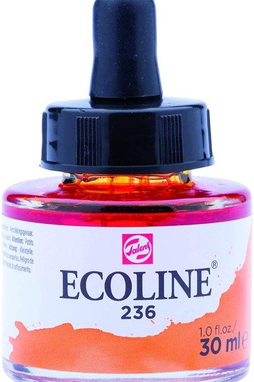 Royal Talens Ecoline Liquid Watercolour Ink 30ml - Light Orange