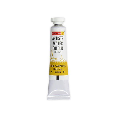 Camel Kokuyo Artist Watercolour 20ml - Gamboge Hue