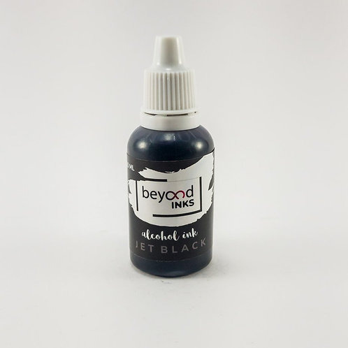 Beyond Inks Individual 20ml Alcohol Inks - Jet Black