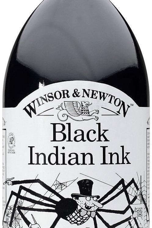 Winsor & Newton Black India Ink - 500ml