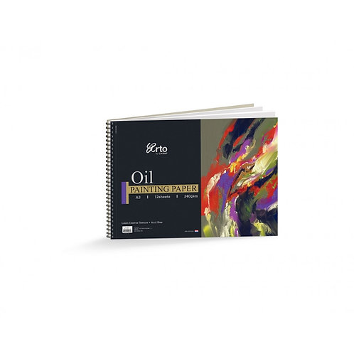 Arto Oil Painting Paper 240gsm - A3