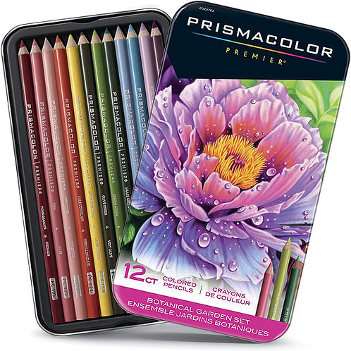 Prismacolor Premier Colored Pencils Botanical Garden - Set of 12