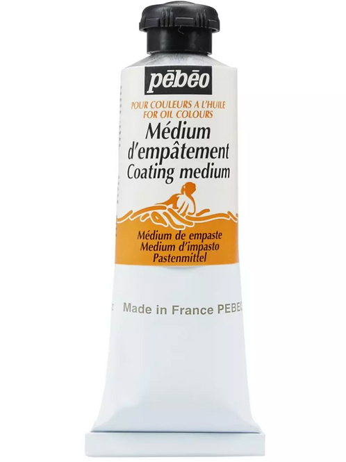Pebeo Extra Fine Auxiliaries - Coating Medium for Oil Colours - 60 ml