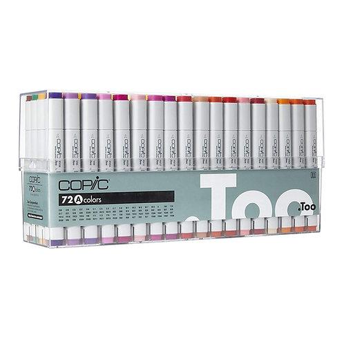 Copic Colour Classic 72 Colour - Set A