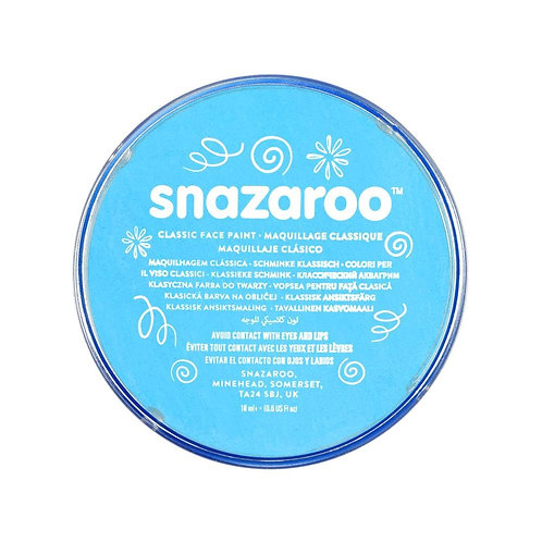 Snazaroo Classic Face Paint 18ml - Turquoise