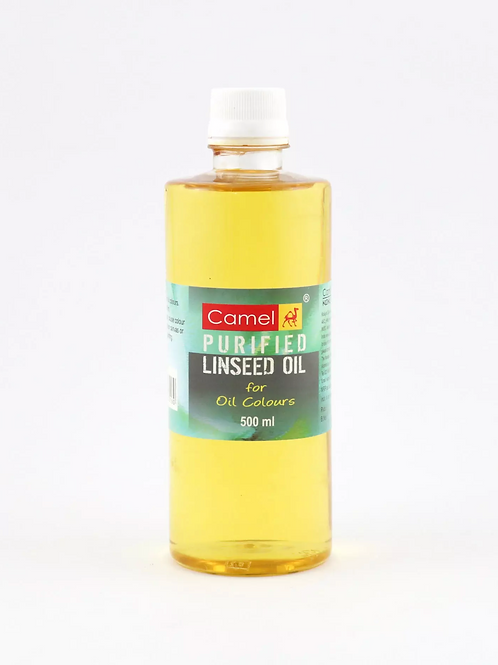 Camel Camlin Purified Linseed Oil - 500ml