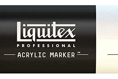 Liquitex 981 Acrylic Paint Marker 15mm Wide - Fluorescent Yellow