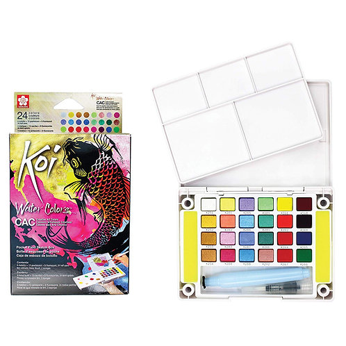Sakura Koi Water Color Set of 24 - Creative Art Colours (CAC)