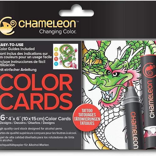 Chameleon Colour Cards ‐ Tattoo