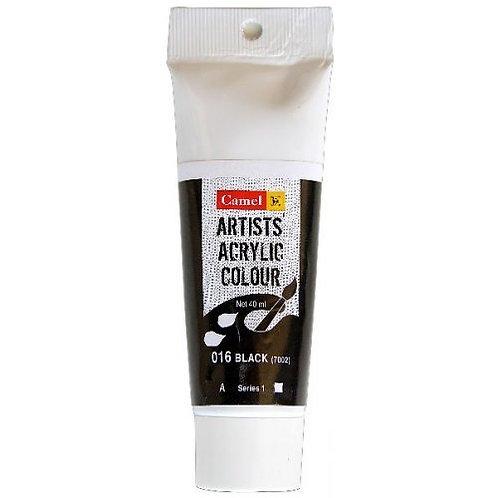 Camlin Kokuyo Artist Acrylic 40ml - Black