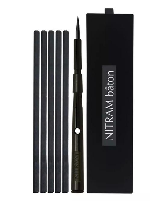 Nitram Baton - Set of 1 Baton (Charcoal Stick Holder) + 5 Mignonette
