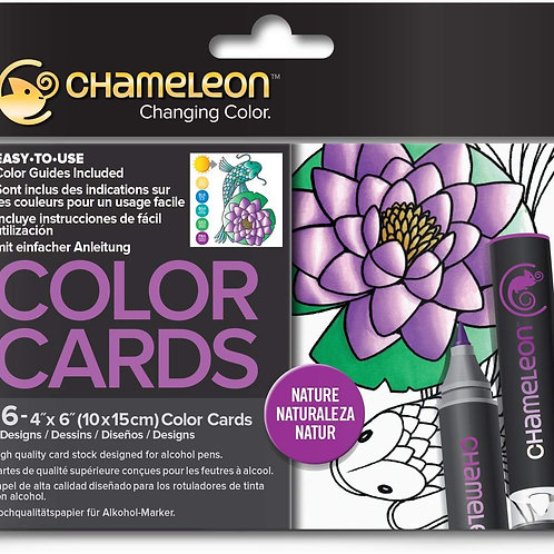 Chameleon Colour Cards ‐ Nature