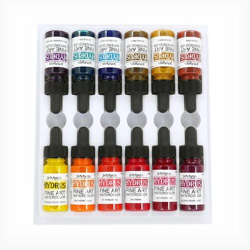 Dr. Ph. Martin Hydrus Watercolour 15ml Set 3 - Set of 12