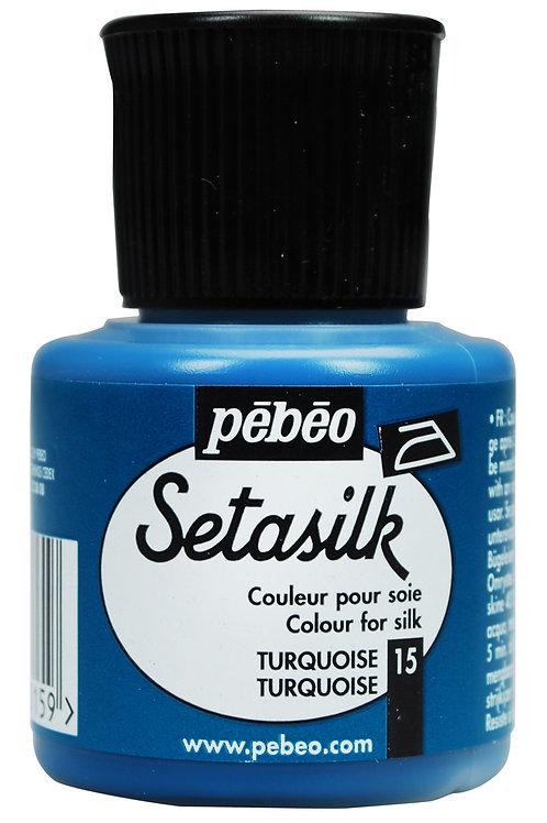 Pebeo Setasilk 45ml - Turquoise