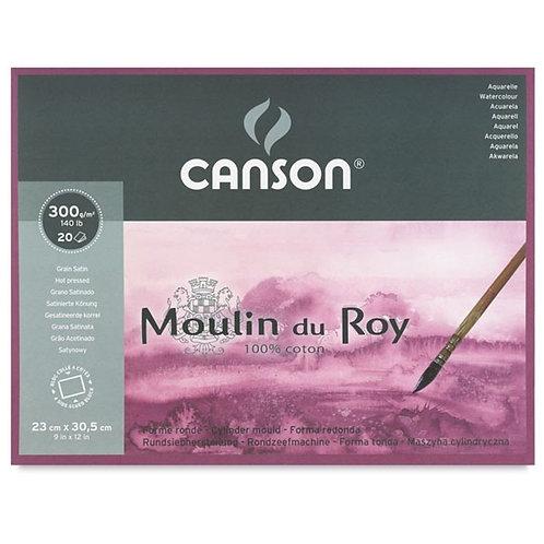 Canson Moulin du Roy 300 GSM - Satin Grain