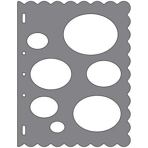 Fiskars Shape Template - Oval